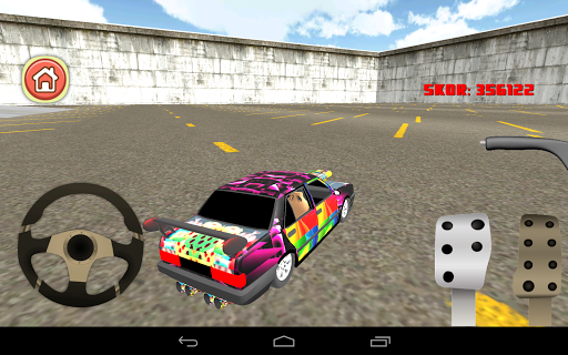Minivan Car Modified Drift 3D