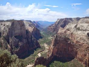 Photo: Zion Canyon.