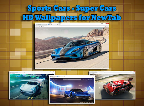 Sports Cars & Super Cars Wallpapers HD NewTab
