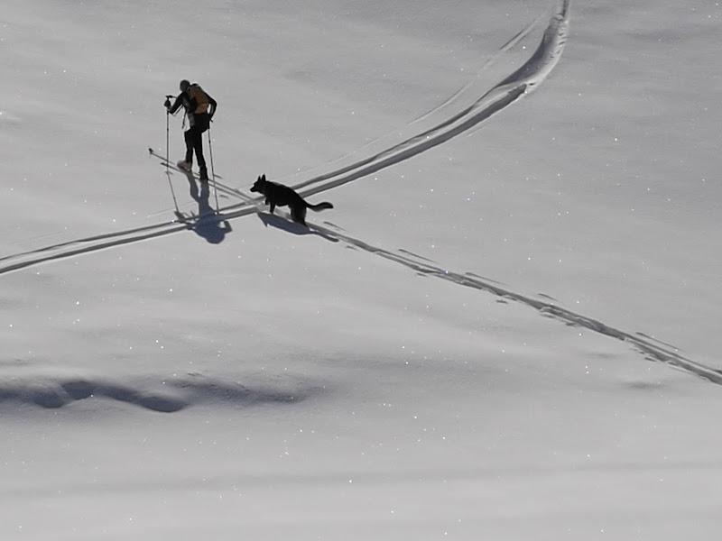 sulla neve di marcoba
