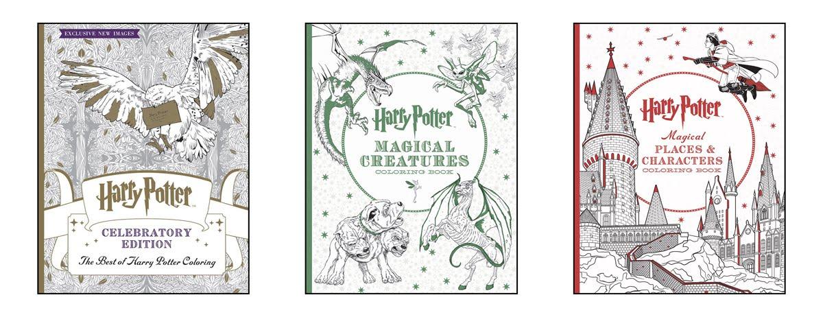 Harry Potter - kolorowanki