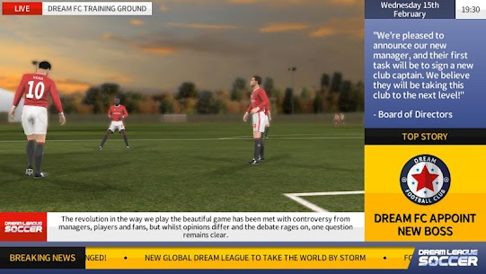 Dream League Soccer 4.15 MOD (Unlimited Money) Apk + Data 3
