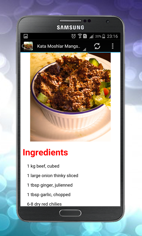 Bangladesh bengali recipes android apps on google play bangladesh bengali recipes screenshot forumfinder Images