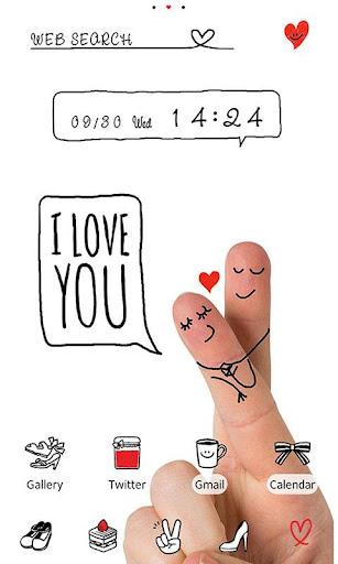 Love Wallpaper-Finger Art- 1.0.1 Windows u7528 1