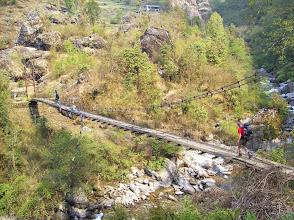 Photo: ein steiler Anstieg nachTharepati erwartet uns