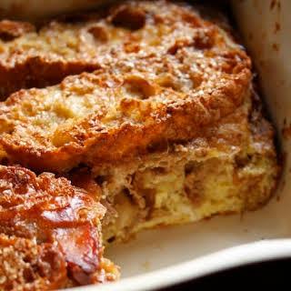 Cinnamon French Toast Casserole.