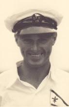 Photo: Walther Krum Nielsen, bådebygger ansat hos Carl Poulsen. Selvstændig bådebygger efter Carl Poulsens pension i 70-erne frem til ca. 1982.