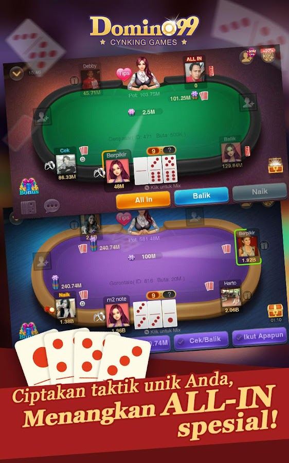 Download Domino QQ Pro:Pulsa Domino99 for PC - choilieng.com