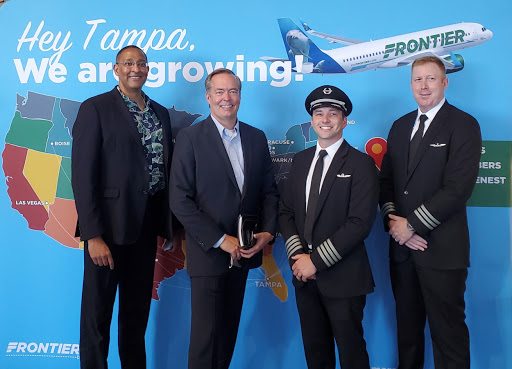 Frontier Airlines opens a Tampa crew base