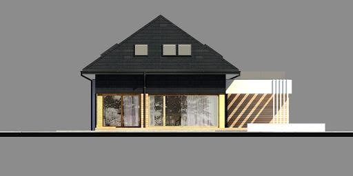 New House 9 - Elewacja lewa