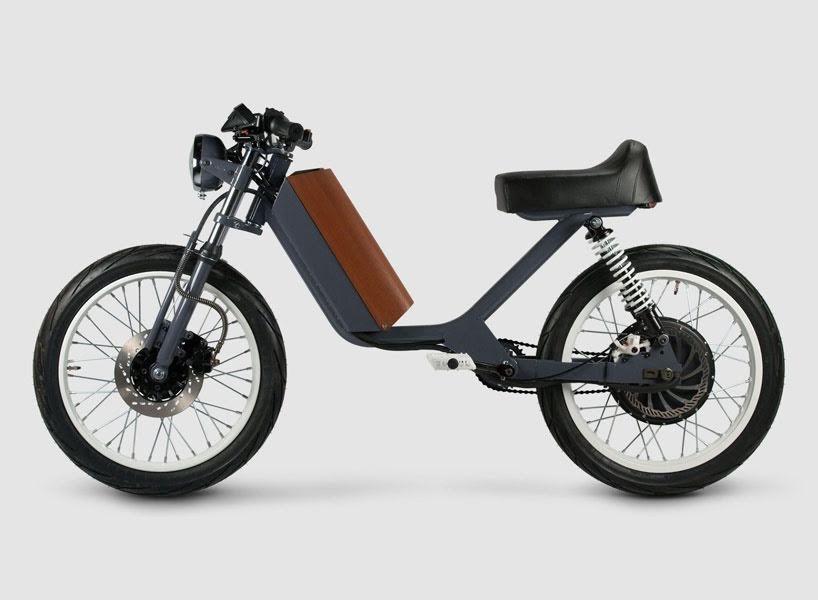 Las motocicletas ONYX, ciclomotores de inspiración retro de los años 70 y 80
