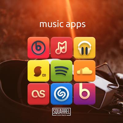 Squarrel Icon Pack- screenshot