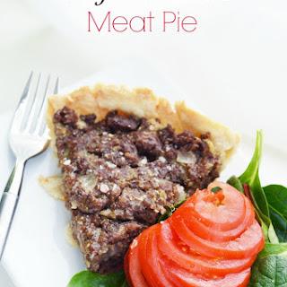 Weight Watchers Meat Pie.