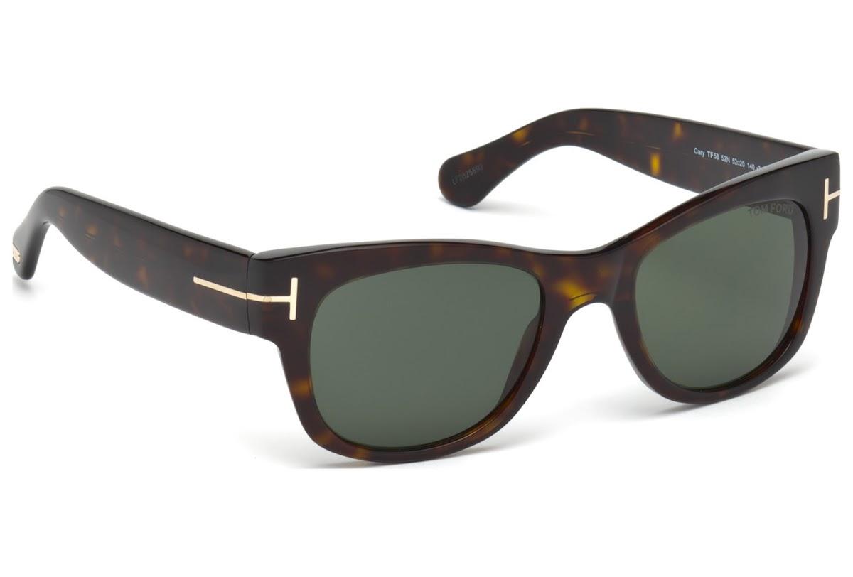 fb349a1709a ... Sunglasses Tom Ford Cary FT0058 C52 52N (dark havana   green). 1  customer reviews