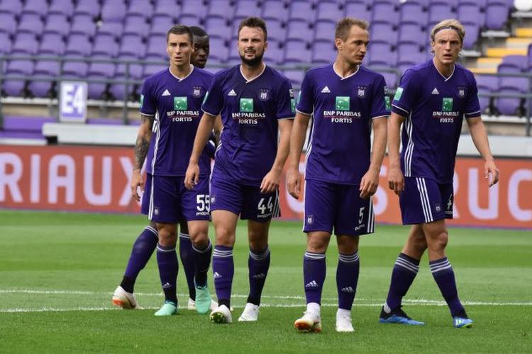 Un défenseur d'Anderlecht absent pendant deux jours