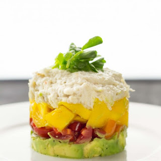 Mango Crab Tower with Avocado