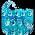 Glass Water Keyboard icon