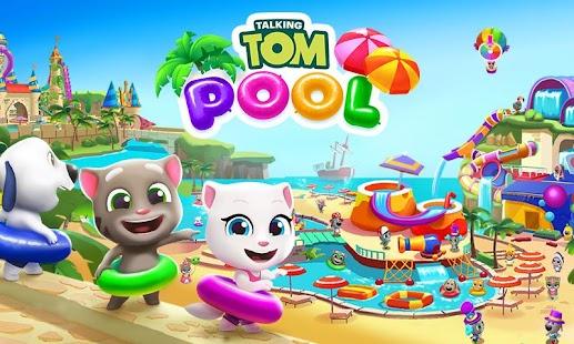 Tải Talking Tom Pool miễn phí