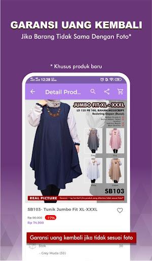 suplier busana : no.1 supplier online shop screenshot 2