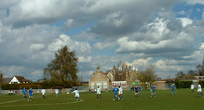 Photo: 12/04/08 v Luton Borough (Beds County League Premier Division) 4-0 - contributed by Martin Wray