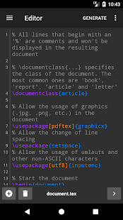 VerbTeX LaTeX Editor- screenshot thumbnail