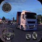 Euro Truck Sim Truck Trailer Driver 2018 icon