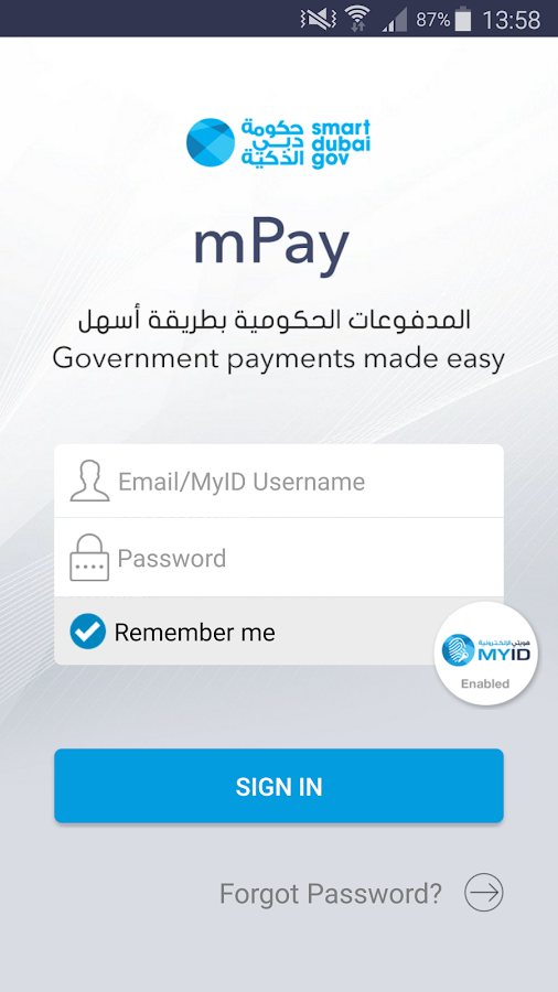 mPay- screenshot