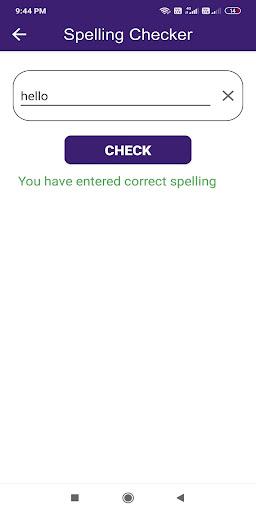 English Spelling Checker - Learn English Grammar screenshots 2