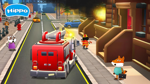 Professions for kids: Driver 3D apkmr screenshots 4