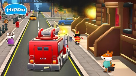 Professions for kids: Driver 3D APK screenshot thumbnail 4