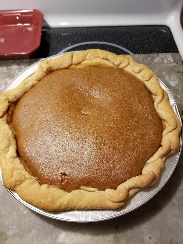 Pumpkin Pie, Mom's Recipe