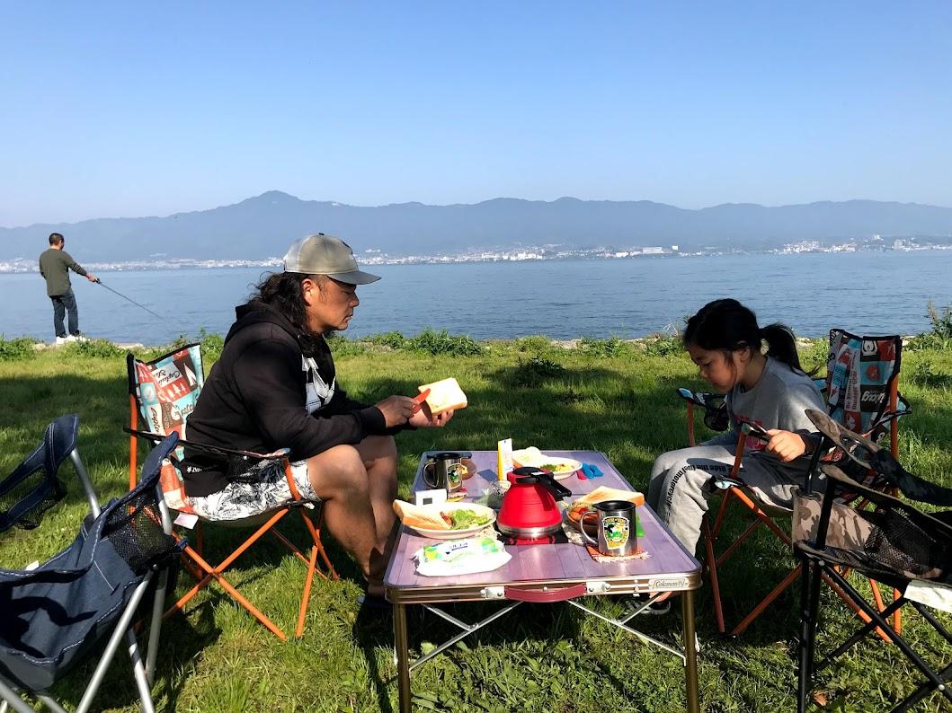 琵琶湖 車中泊