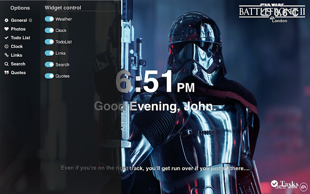 Star Wars Battlefront Ii Wallpaper Tab Theme