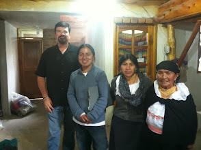 Photo: Brian visiting with local mill outside Otavalo, Ecuador.