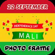 22 September Mali Independence day photo frame