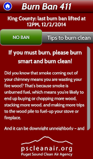 Burn Ban 411- screenshot thumbnail