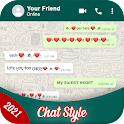 Chat Styles: Stylish Fonts & Keyboard for WhatsApp icon