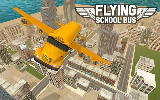 Flying School Bus Sim 2017 1.0.3 screenshots 7