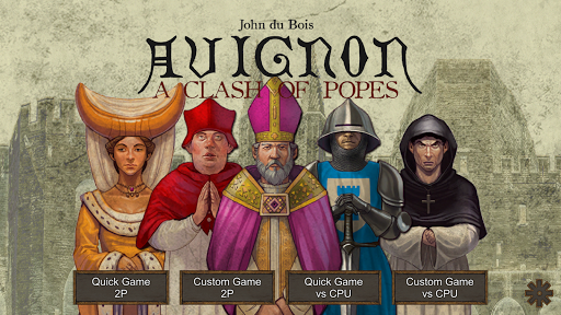 Avignon: A Clash of Popes game for Android screenshot