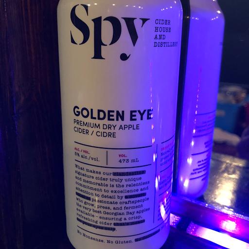 SPY Golden Eye