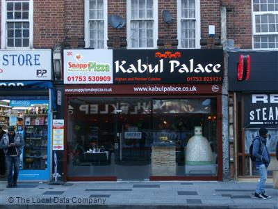 Kabul Palace On High Street Restaurant Afghan In Slough