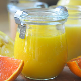 Easy Microwave Citrus Curd