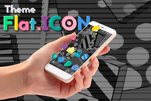 Apolo Flat - Theme, Icon pack, Wallpaper App Report on Mobile Action