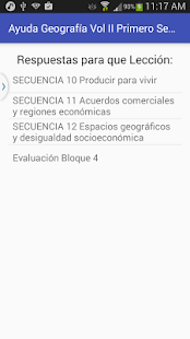 Geografía Vol II 1o Secundaria- screenshot thumbnail