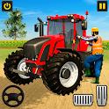 Grand farming simulator-Tractor Driving Games icon