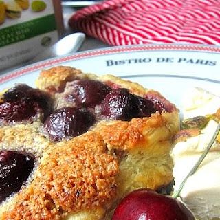 Cherry Almond Galettes w/ Pistachio Gelato