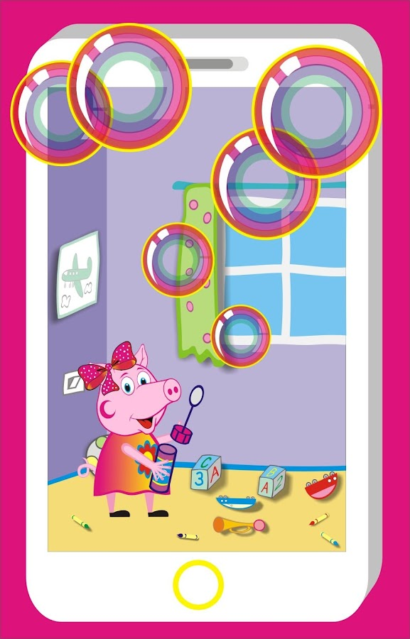 Pig Pepi let bubbles- screenshot