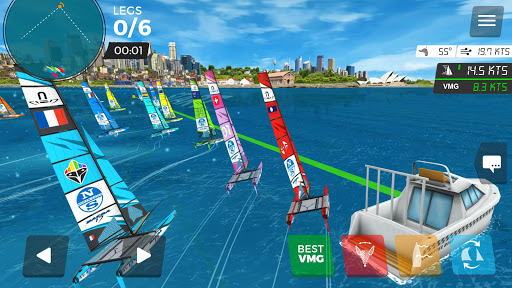 Virtual Regatta Inshore 3.0.0 screenshots 1