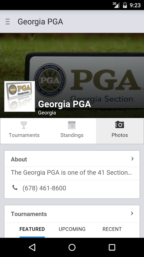 Georgia PGA- screenshot