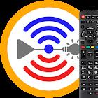 Remote for Panasonic TV+BD+AVR icon